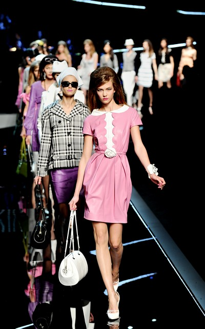 Показ Dior Cruise 2011 в Шанхае. Фото: PHILIPPE LOPEZ/AFP/Getty Images