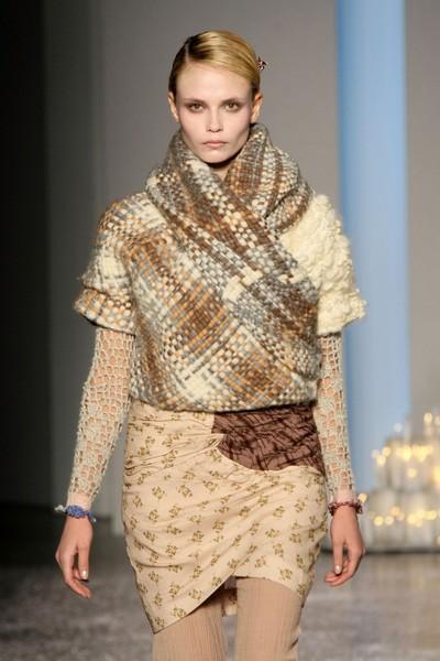 Коллекция от Rodarte на Неделе моды Mercedes-Benz в Нью-Йорке. Фото: Getty Images