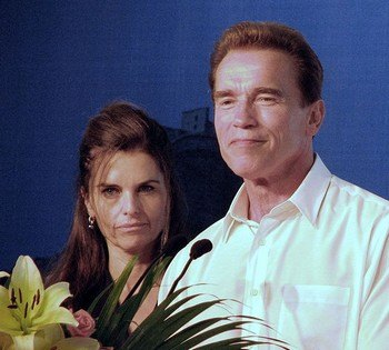 Арнольд Шварценеггер и Мария Шрайвер. Фото: wikipedia.org
