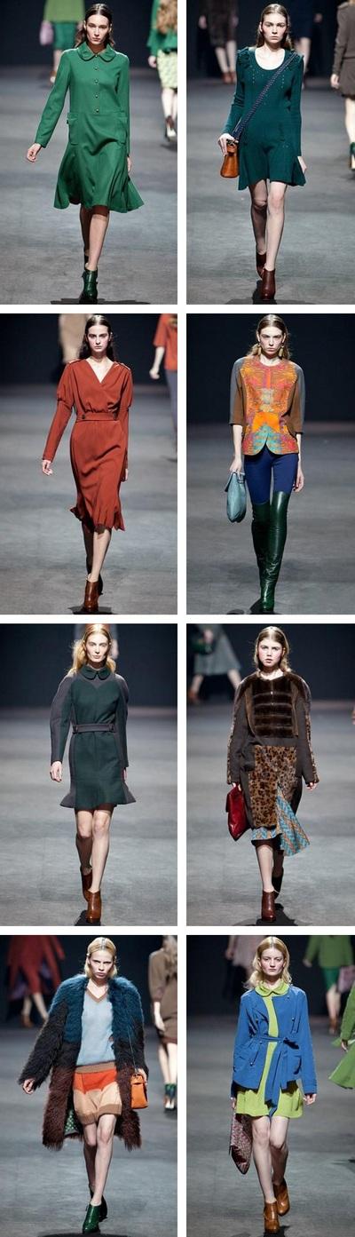 Новая коллекция Алены Ахмадуллиной сезона осень-зима 2012/13. Фото: trendspace.ru