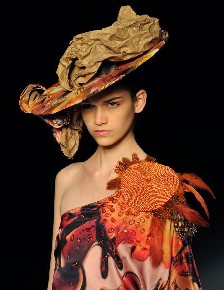 Фоторепортаж. Показ пляжной коллекции Alessa в рамках Rio Fashion Week, Summer 2012. Фото: VANDERLEI ALMEIDA/AFP