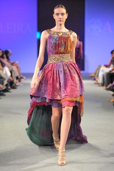 Фоторепортаж. Показ коллекции бренда Alleira Batik в рамках шоу Blueprint 2011. Фото: Andri Tei/Getty Images