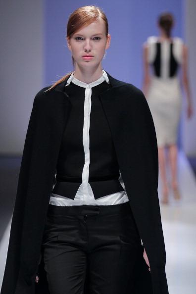 Фоторепортаж.  Мода осень-зима 2011/12: Показ коллекции Antonio Berardi на  фестивале Audi Fashion Festival. Фото: Chris McGrat/Getty Images Entertainment