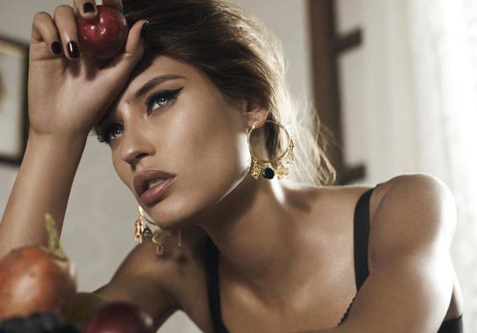 Бьянка Балти - лицо ювелирной коллекции Dolce & Gabbana. Фото: trend.kg
