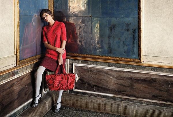 Рекламная кампания Bottega Veneta осень-зима 2011. Фото: trend.kg