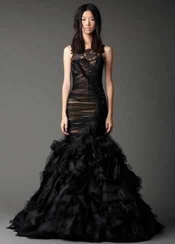 Платье из свадебной коллекции Веры Ванг. Фото: trendspace.ru