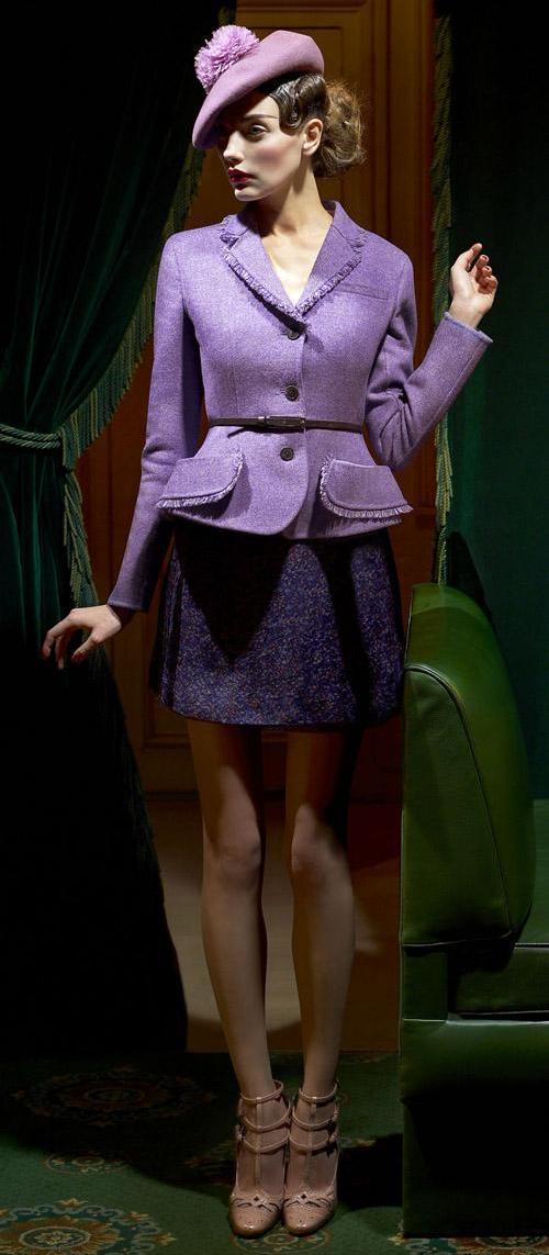 Модная одежда от Christian Dior осень-зима 2011-2012. Фото предоставлено AbNovki