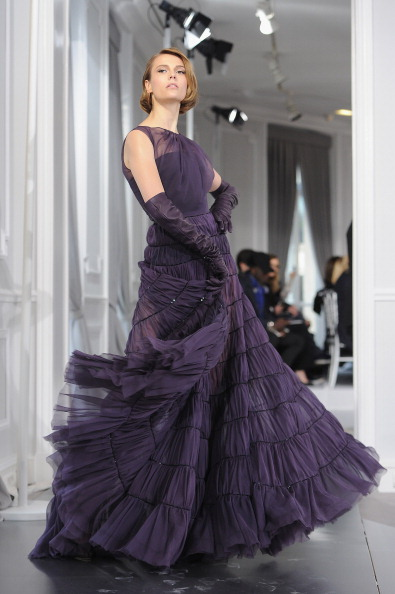 Высокая мода от Dior весна-лето 2012 на Неделе моды в Париже. Фото: Pascal Le Segretain/Getty Images