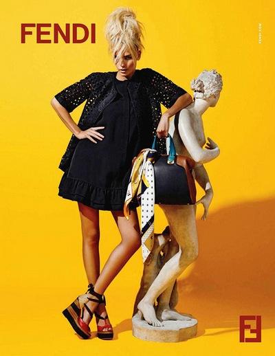 Наташа Поли представляет Fendi. Фото: trendspace.ru
