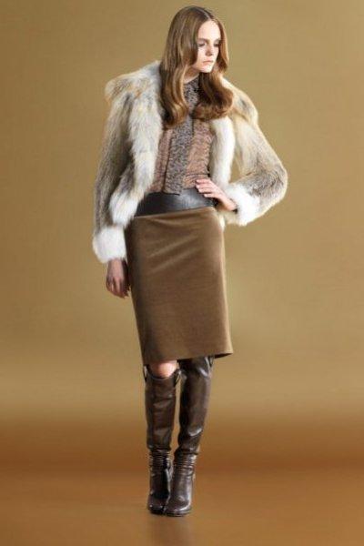 Модная Женская Одежда Осень 2012