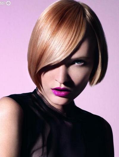Модные причёски весна-лето 2012 от Schwarzkopf Professional: Hip Opulents. Фото: beautydigest.ru
