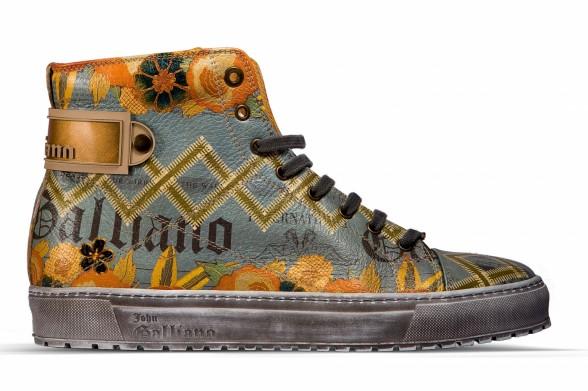 Осень-зима 2011-2012: мужская обувь John Galliano. Фото: fashionwalk.ru