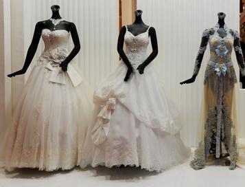 Свадебные платья. Фото: ADEK BERRY/AFP