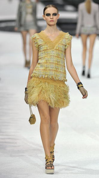 Коллекция Chanel, весна-лето 2011 Фото:Pascal Le Segretain/Getty Images