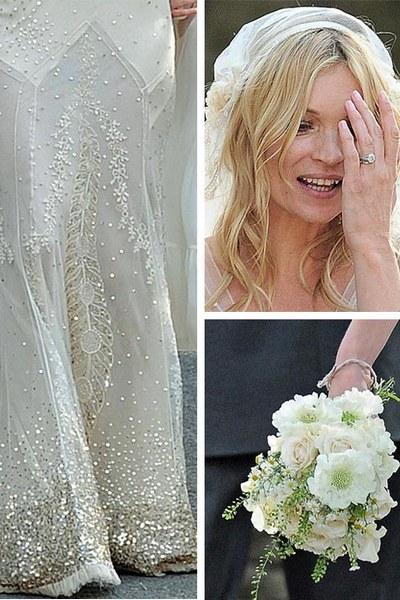 Кейт Мосс в свадебном платье от Джона Гальяно. Фото предоставлено TrendSpace