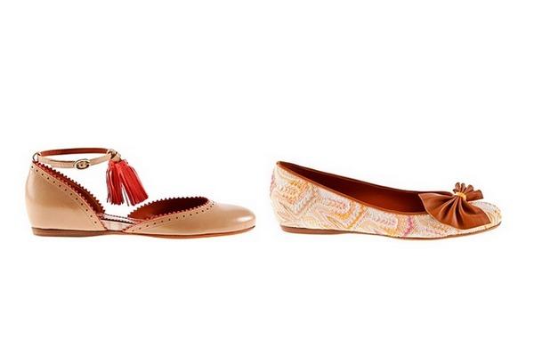Модная обувь весна-лето 2012 от Missoni. Фото: abnovki.ru