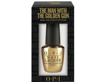 «Золотой» лак для ногтей OPI. Фото: hello-style.ru