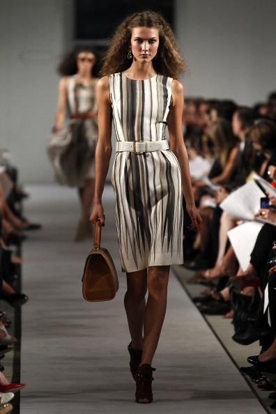 Oscar de la renta весна 2012 на неделе моды