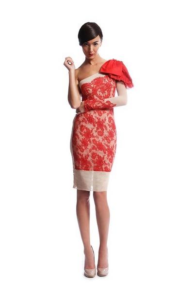 Мода осень-зима 2011-2012: вечерние и коктейльные платья от Philip Armstrong. Фото: abnovki.ru