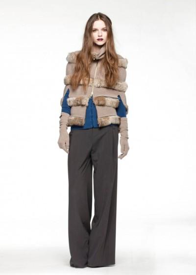 Модная одежда осень-зима 2011-2012 от Anna Rita N. Фото: abnovki.ru