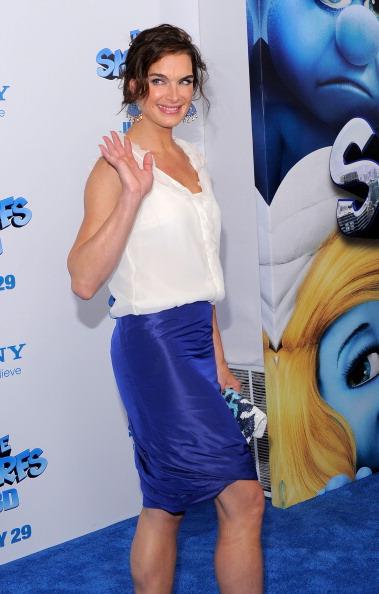 Фоторепортаж. Премьера мультфильма The Smurfs (Смурфики). Фото: Jemal Countess/Getty Images Entertainment