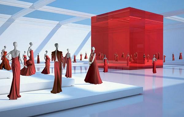 Виртуальный музей бренда Valentino. Фото: trendspace.ru