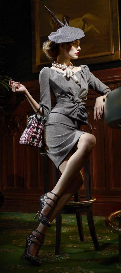 Мода осень-зима 2011-2012: модные береты. Фото: abnovki.ru