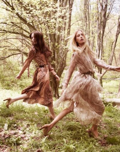 Рекламная кампания Chloe осень-зима 2011-2012. Фото: fashionwalk.ru