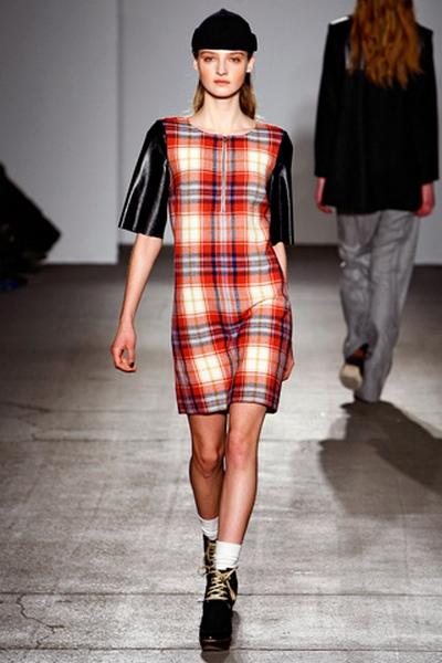 Клетка – модный тренд сезона осень-зима 2011-2012. Фото: pulse-fashion.ru
