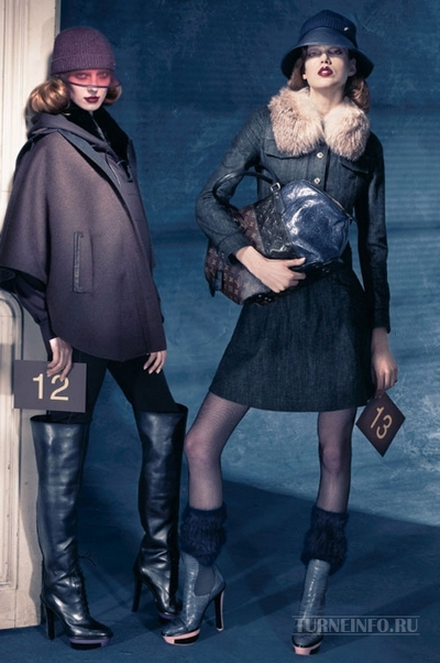 Louis Vuitton осень-зима 2011-2012. Фото: turneinfo.ru