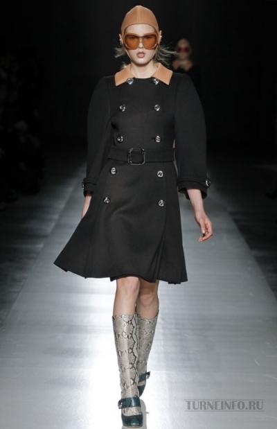 Модные пальто осень 2011 от Prada. Фото: turneinfo.ru
