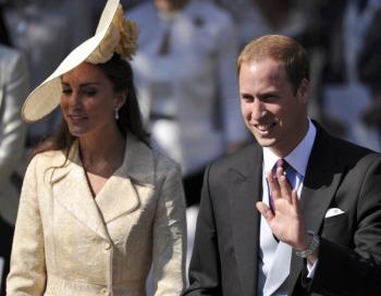 Принц Уильям и Кетрин. Фото: BEN STANSALL/AFP