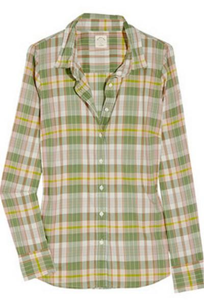 Рубашка J.Crew. Фото: Netaporter