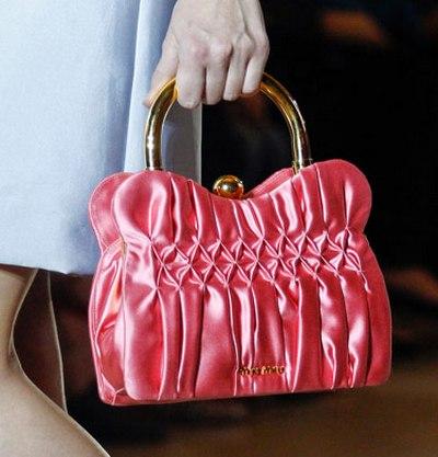 Модные сумки Miu Miu весна-лето 2012. Фото: purseblog.com