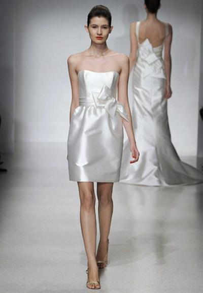 Модные свадебные платья весна-лето 2012. Фото: pssp.ru