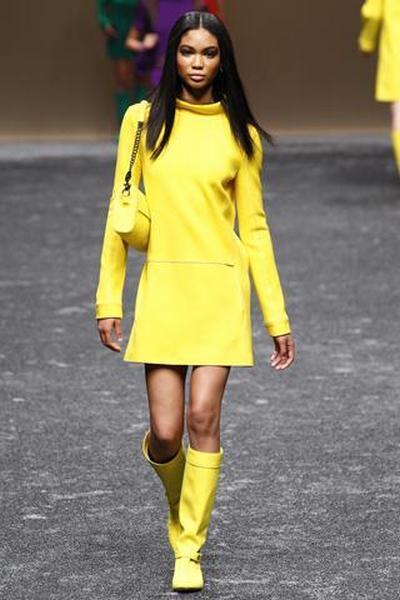 Желтый – фаворит сезона 2012. Фото: pulse-fashion.ru