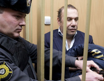 Рассмотрение ходатайства об аресте В.Батурина в Тверском суде. Фото РИА Новости