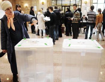 Выборы президента РФ. Фото РИА Новости