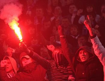 Фанаты. Фото РИА Новости