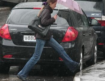 Дождь. Фото РИА Новости
