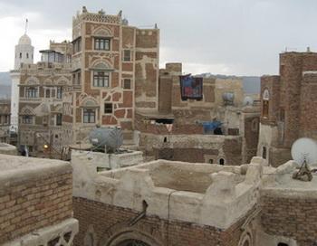 Сана - столица Йемена. Фото РИА Новости