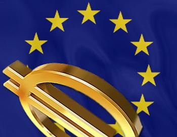 Евросоюз и евро. Коллаж РИА Новости