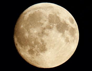 Луна. Фото РИА Новости