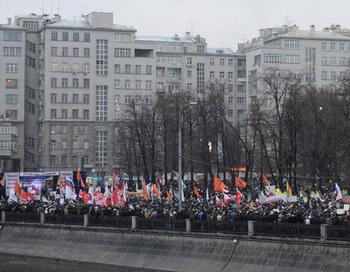 Митинг «За честные выборы» на Болотной площади. Фото РИА Новости