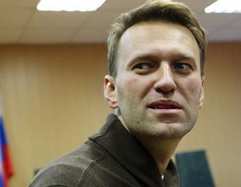 Блогер Алексей Навальный. Фото РИА Новости
