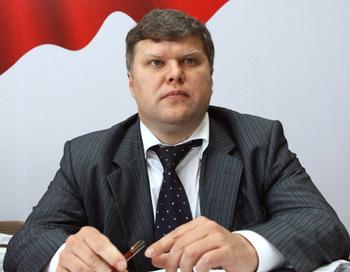 Глава партии «Яблоко» Сергей Митрохин. Фото РИА Новости