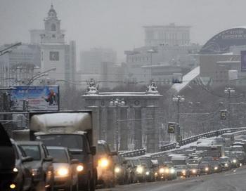 Снег. Фото РИА Новости