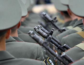 Российские военнослужащие. Фото РИА Новости