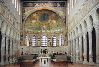 Мозаики в церкви Сан-Аполлинер. Фото с сайта epochtimes.de