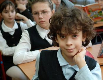 Школьники. Фото РИА Новости